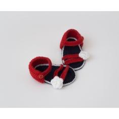 Zapatitos de Ganchillo Verano Niña Sandalia