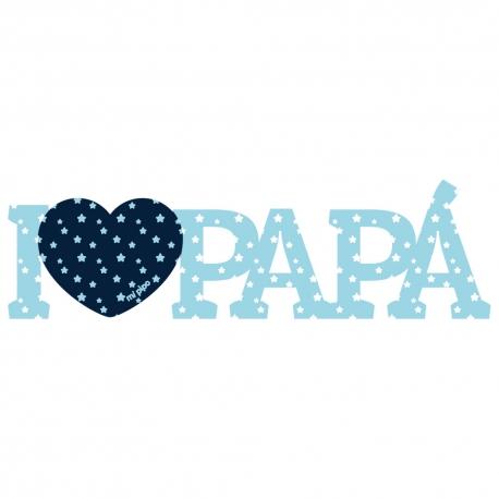 I Love Papá Azul