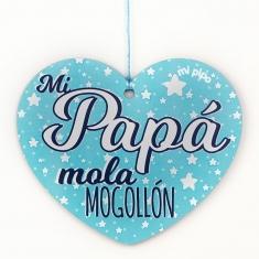 Pack de 4 corazones para decorar Especial Papá