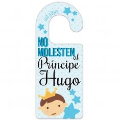 No Molesten al Príncipe + Nombre (Personalizado)