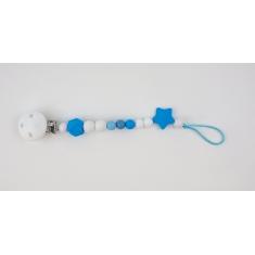 Cadenita Silicona Dora Azul no personalizada