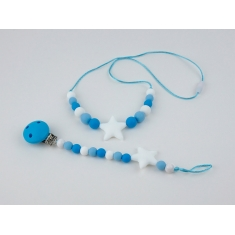 Pack Lactantion Basic Blue (Necklace + Silicone Chain)