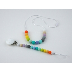 Pack Lactantion Basic Multicolor (Necklace + Silicone Chain)