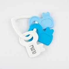 Sonajero Llaves Azul +0m Personalizado