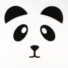 Sticker pared Panda