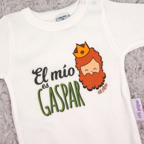 Babidu Body Navideño El Mío es Gaspar
