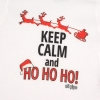 Babidu Body Navideño Keep Calm and Ho, Ho, Ho!