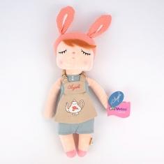 Bolsito infantil Metoo Conejito Angela rosa