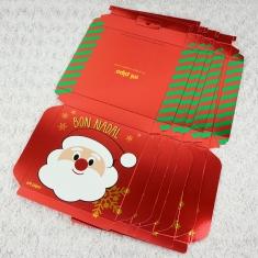 6 Cajitas de regalo Navideñas Bon Nadal Papá Noel