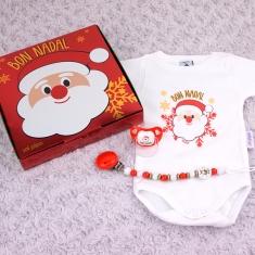 5+1 Cajita Especial Navidad (en catalán) Papá Noel y Reno Rudolf te desean Bon Nadal