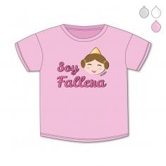 Camiseta Divertida Bebé Soy Fallera