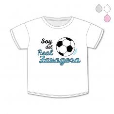 Camiseta Divertida Bebé Soy del Real Zaragoza