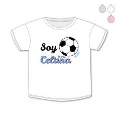 Camiseta Divertida Bebé Soy Celtiña