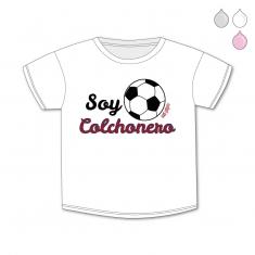 Camiseta Divertida Bebé Soy Colchonero