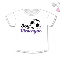 Camiseta Divertida Bebé Soy Merengue