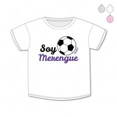 Camiseta Divertida Bebé Soy Merengue