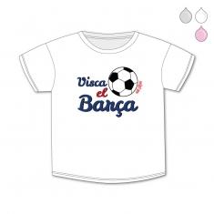 Camiseta Divertida Bebé Visca el Barça