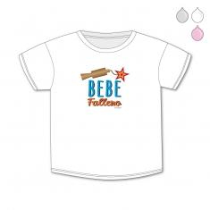 Camiseta Divertida Bebé Bebé Fallero