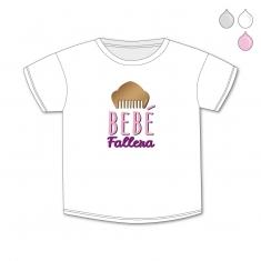 Camiseta Divertida Bebé Bebé Fallera