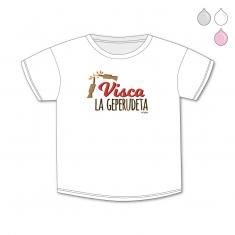 Camiseta Divertida Bebé Visca la Geperudeta