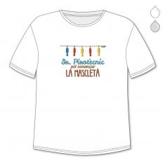 Camiseta Divertida Papá Sr Pirotècnic, pot començar la mascletà