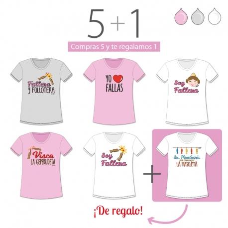 7ca1ff4aaf PROMO Camiseta Divertida Niña especial Fallas