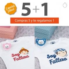 PROMO Cajita Body+baby especial Fallas, compra 5 y te regalamos 1