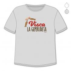 Camiseta Divertida Papá Visca la Geperudeta