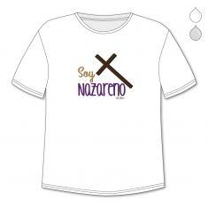 Camiseta Divertida Papá Soy Nazareno cruz