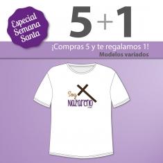 PROMO Camiseta Divertida Papá especial Semana Santa, compra 5 y te regalamos 1