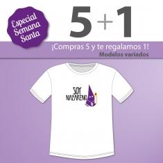PROMO Camiseta Divertida Niño especial Semana Santa, compra 5 y te regalamos 1