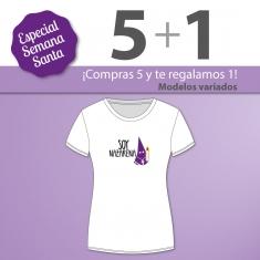 PROMO Camiseta Divertida Mamá especial Semana Santa, compra 5 y te regalamos 1