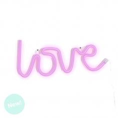 Love de Neón Rosa