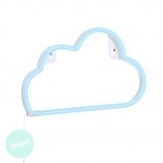 Nube de Neón Azul