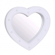 Espejo Corazón de Leds