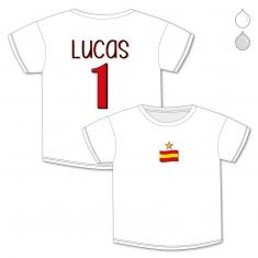 Camiseta Personalizada Bebé Nombre + Número España