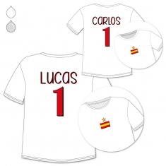 Pack 2 Prendas Nombre + Número España