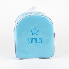 Mochila Gloss Azul personalizada