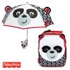 Pack ahorro Mochila + Paraguas 3D Fisher Price Panda