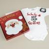Cajita Navidad Body + Chupete Divertido Keep calm and ho ho ho!