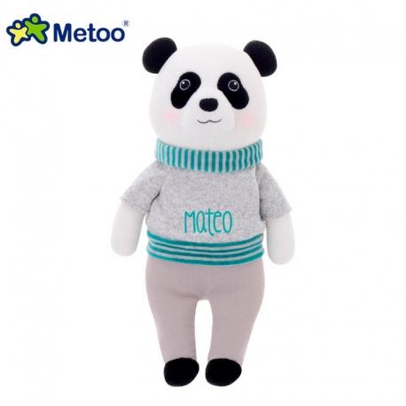 Muñeco Metoo Panda Sueter Gris personalizado