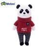 Muñeco Metoo Panda Sueter Rojo personalizado