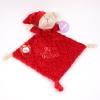 Doudou Clásico + Chupete baby Rojo Mi Primera Navidad