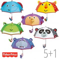 PROMO Paraguas Fisher Price no personalizado, compra 5 y te regalamos 1