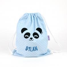 Petate Panda Azul personalizado