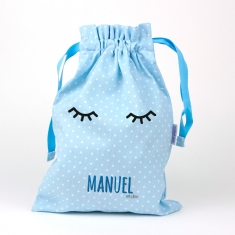 Bag Blue Personalized