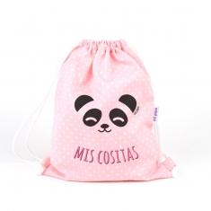 Petate Panda Rosa Mis Cositas