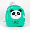 Mochila Panda Menta Personalizada