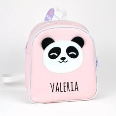 Mochila Panda Rosa Personalizada