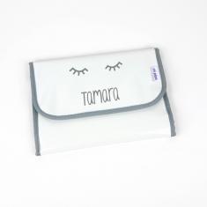 Portadocumentos Gloss Blanco Personalizado